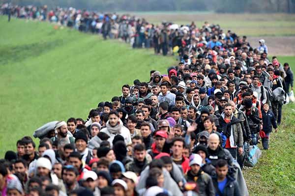 Выселение беженцев